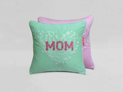 Pink Mint cushion
